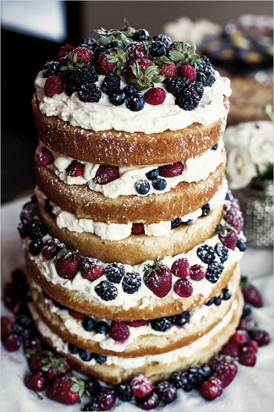 mixed-berry-naked-cake